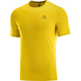 Salomon XA T-shirt Heren, lemon cur/heather